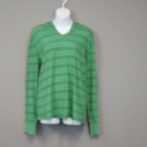 Threads 4 Thought green hoodie size Large